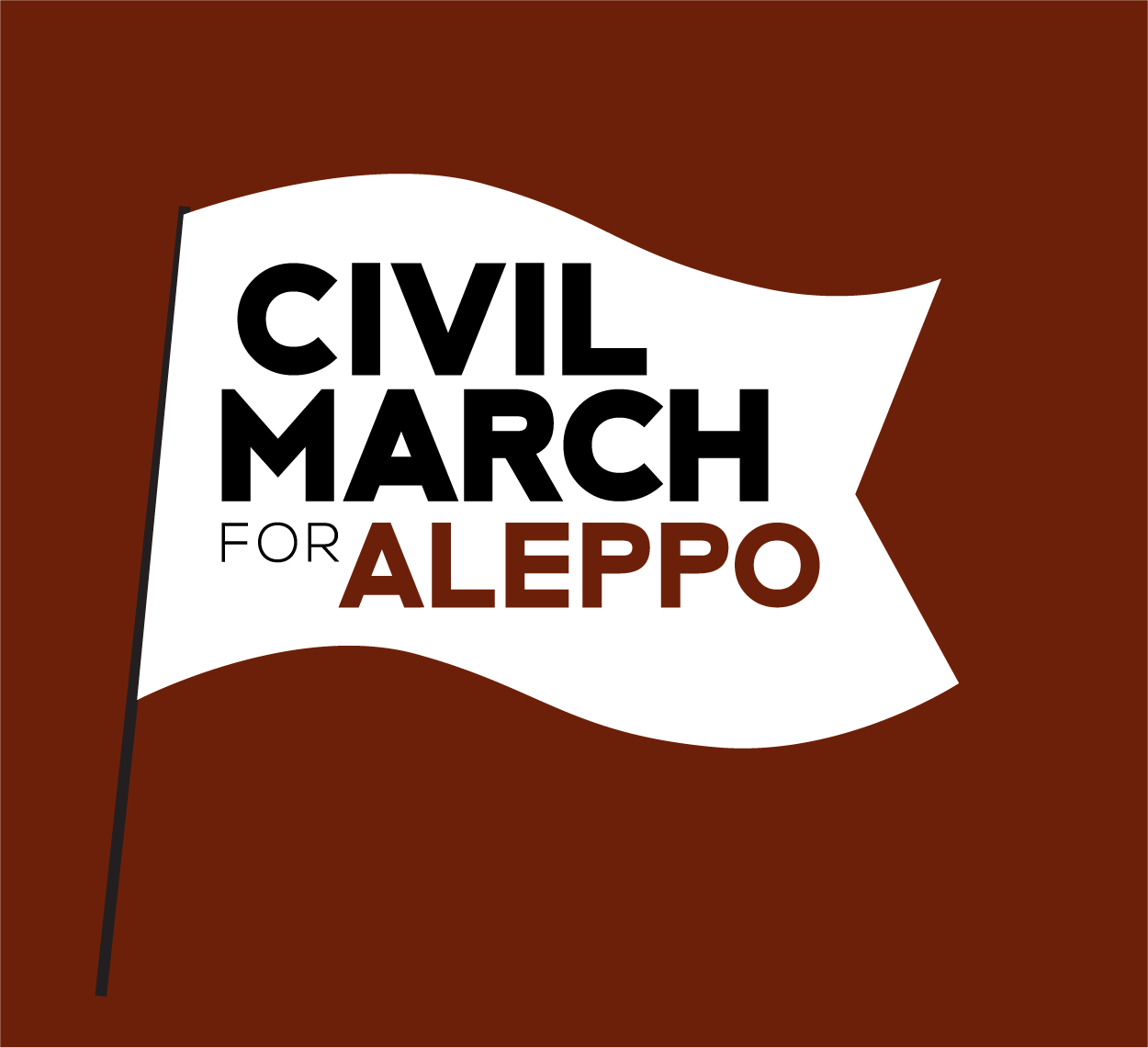 here you can join our route civil march for aleppo - Einladungstext Fur Grillfest